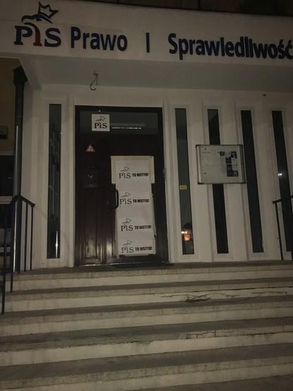 Nocna akcja Komitetu Obrony Demokracji