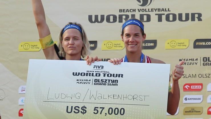 Niemki najlepsze w turnieju Grand Slam w Olsztynie!