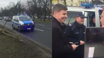 """21-03-2017 16:00 PO sadzi drzewa, policja interweniuje. """"Zbyt blisko siedziby PiS"""""""