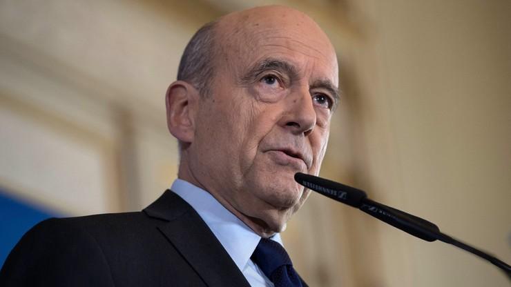 Juppe: nie będę startował w wyborach prezydenckich