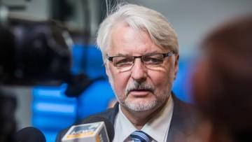 06-03-2017 19:14 Szef MSZ: Tusk nie powinien być brany pod uwagę w wyborze szefa RE