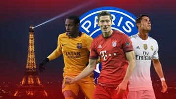 2015-10-28 Fogiel z Paryża: Neymar, Ronaldo i... Lewandowski na celowniku PSG