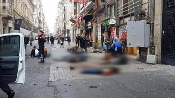 19-03-2016 22:50 Ulica w Stambule przed i po zamachu. Szokujące zdjęcia