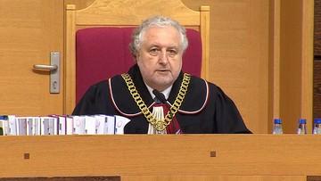 04-08-2016 16:48 Prezes TK zarzuca kłamstwo marszałkowi Senatu