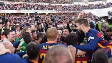 14-05-2016 19:54 Barcelona obroniła mistrzostwo Hiszpanii. Kolejny świetny występ Suareza