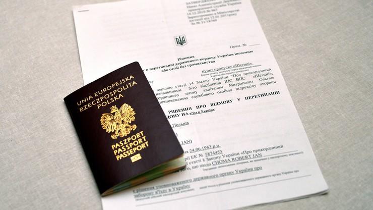 MSZ: wystosowaliśmy notę ws. zakazu wjazdu na Ukrainę wydanego prezydentowi Przemyśla