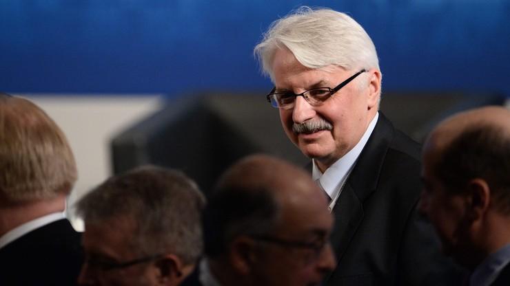 Waszczykowski: deklaracja NATO-Rosja już nie obowiązuje