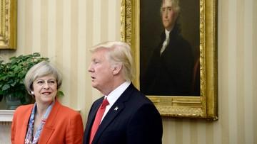 27-01-2017 20:52 Trump: Brexit będzie dla Wielkiej Brytanii fantastyczną rzeczą