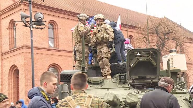 Amerykańscy żołnierze spotkali się z mieszkańcami Torunia