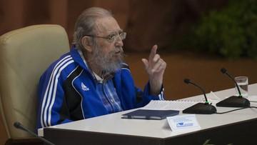 """20-04-2016 05:52 """"Na każdego przychodzi kolej"""" - Fidel Castro o swoim odejściu podczas zjazdu Komunistycznej Partii Kuby"""