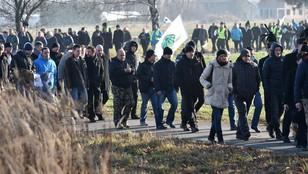 Górnicy z kopalni Makoszowy pikietowali przed domem premier Szydło