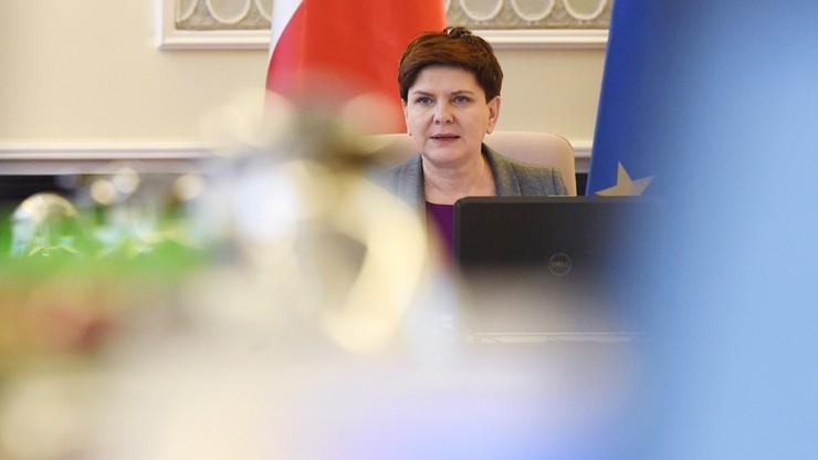 Do prokuratury wpłynęło doniesienie na Beatę Szydło