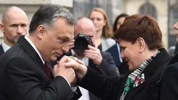 08-02-2016 12:05 Premier Szydło z wizytą na Węgrzech. Trwają rozmowy z Victorem Orbanem