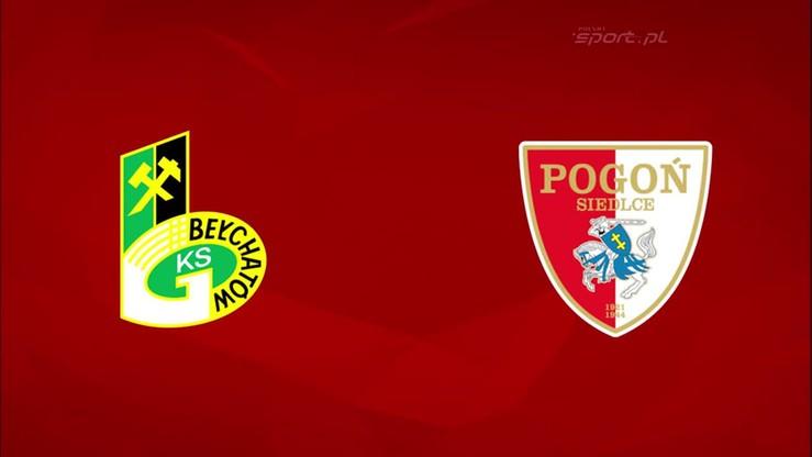 2015-10-05 GKS Bełchatów - Pogoń Siedlce 0:0. Skrót meczu