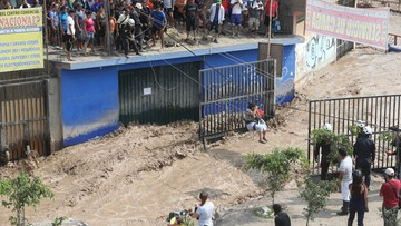 Powodzie wywołane El Nino w Peru. Nie żyje 67 osób