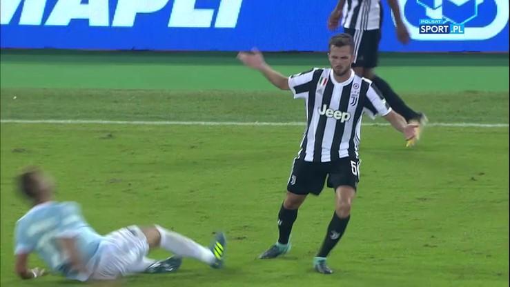 Prostackie zachowanie Pjanica! Zawodnik Juventusu kopnął rywala