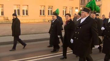 2016-12-04 Premier świętowała Barbórkę razem z górnikami KWK Brzeszcze