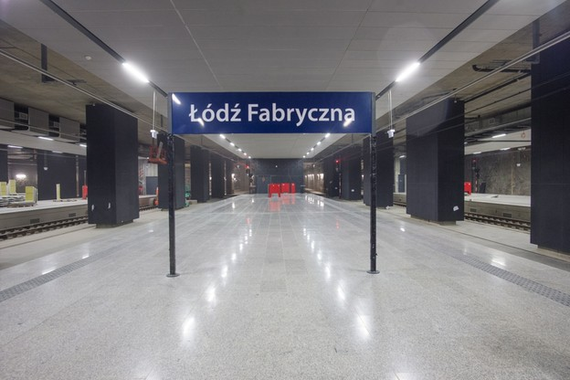 Fabryczna peron