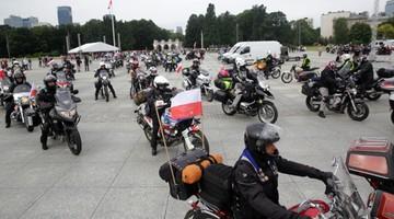 13-08-2017 12:12 Z Warszawy wyruszył XVII Międzynarodowy Motocyklowy Rajd Katyński