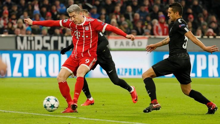 Lewandowski o jednego gola od pierwszej 10 strzelców LM
