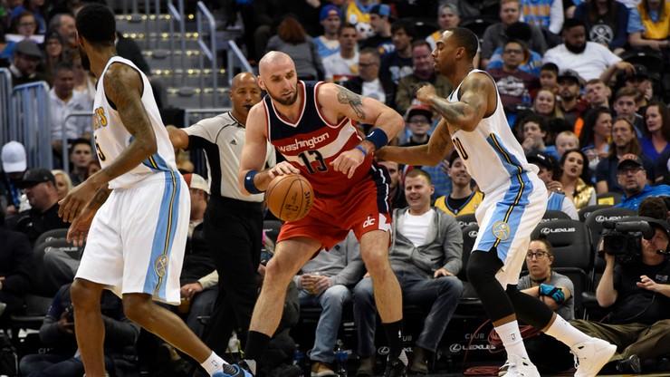 NBA: Timberwolves wyraźnie lepsi od Wizards. Siódemka Gortata