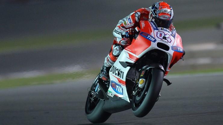 MotoGP: Dovizioso na pole position w Katarze