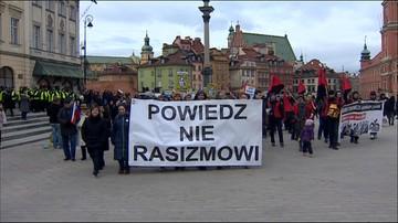 """19-03-2016 17:00 """"Powiedz nie rasizmowi"""". Antyrasistowski marsz w Warszawie"""