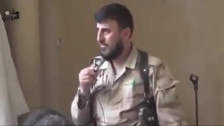 Syria: dowódca grupy rebelianckiej zabity w nalocie