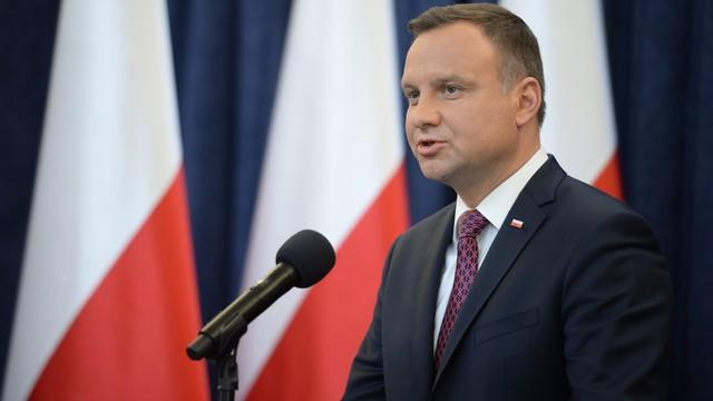 Prezydent Andrzej Duda: Polacy nie chcą wyrzucenia całego SN jednego dnia