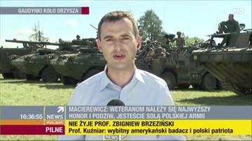 Macierewicz do weteranów: jesteście solą polskiej armii