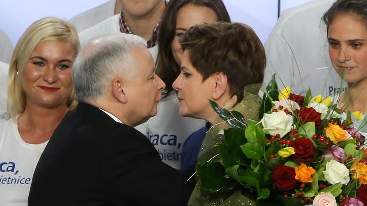 """W PiS zaczęto podważać pozycję Beaty Szydło - donosi """"Fakt"""""""