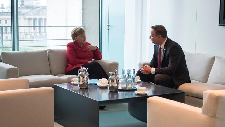 Prezydent Duda: Jestem dumny, że Polacy potrafili wybaczyć Niemcom