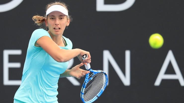 WTA w Hobart: Mertens powtórzyła ubiegłoroczny sukces w singlu
