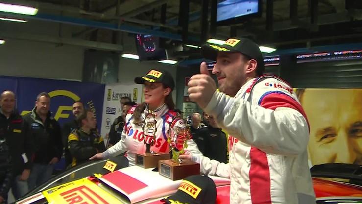 Kubica po zwycięstwie w Monza Rally Show