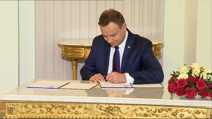 Prezydent Andrzej Duda zawetował pierwszą ustawę - o uzgodnieniu płci