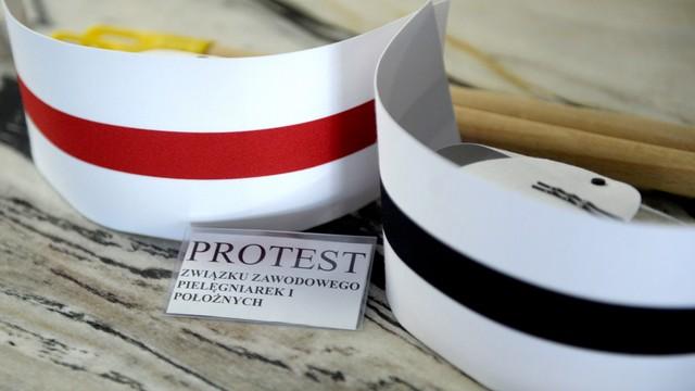Protest pielęgniarek: w części szpitali strajki ostrzegawcze