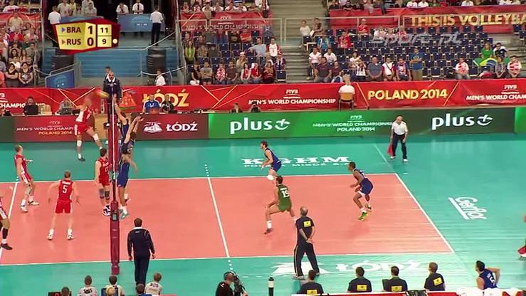Brazylia - Rosja 3:0. Skrót meczu