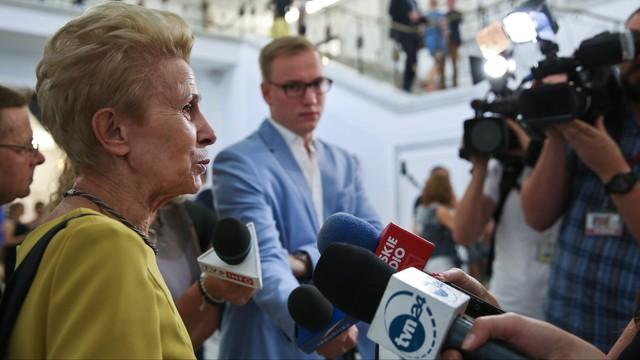 Iwona Śledzińska-Katarasińska wystartuje w jesiennych wyborach