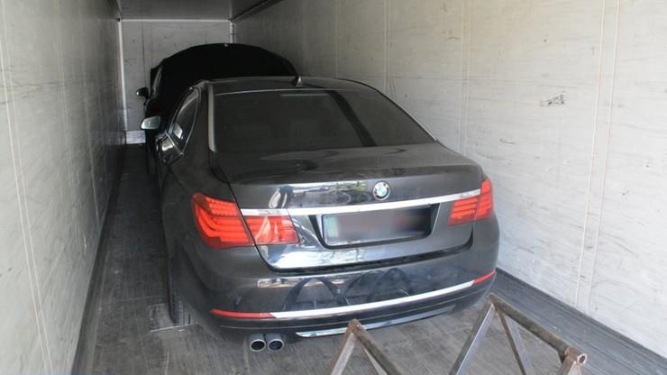 Litwin przewoził kradzione auta o wartości 1 mln zł. Był uzbrojony