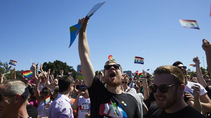 Większość Australijczyków za legalizacją małżeństw jednopłciowych