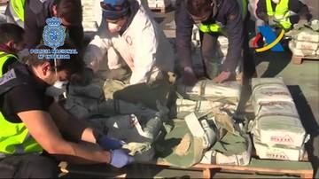 Hiszpańska policja przejęła ogromny transport heroiny