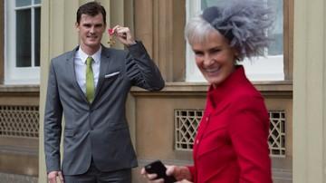 2016-10-26 Murray odznaczony Orderem Imperium Brytyjskiego
