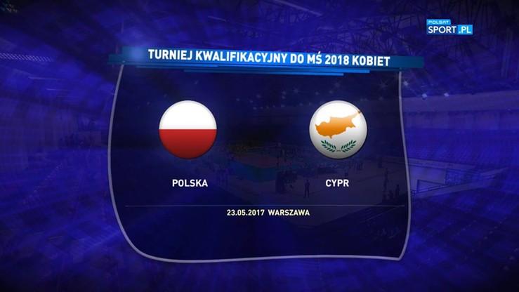 2017-05-23 El. MŚ 2018: Polska - Cypr 3:0. Skrót meczu