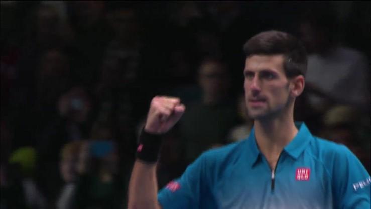 2015-11-21 Ostatnie akcje i triumf Djokovica nad Nadalem