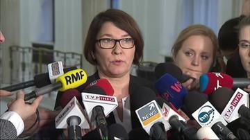 Beata Mazurek o wyborze Tuska
