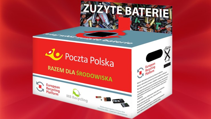 Powstała licząca 5000 lokalizacji sieć zbierania zużytych baterii