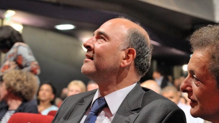 Francuski socjalista Pierre Moscovici chce zastąpić Junckera