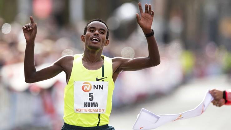 Etiopczyk i Japonka najszybsi w Rotterdamie