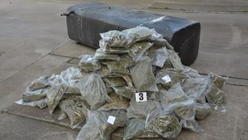 24-06-2016 14:57 42 kg marihuany ukryte w samochodzie ciężarowym
