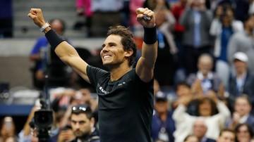 2017-09-11 US Open: 16. wielkoszlemowy tytuł Nadala i trzeci w Nowym Jorku